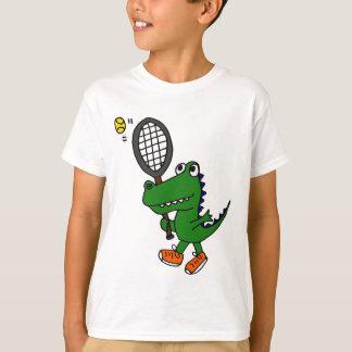 XX- Funny Gator Playing Tennis T-Shirt