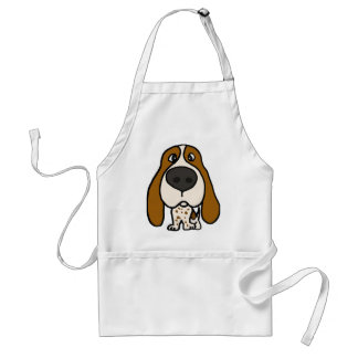 XX- Funny Hound Dog Aprons