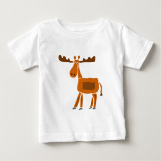 XX- Funny Moose Art Design Baby T-Shirt