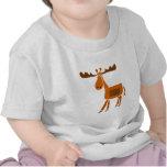 XX- Funny Moose Art Design T Shirts
