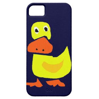 XX- Funny Primitive Art Duck iPhone 5 Cases