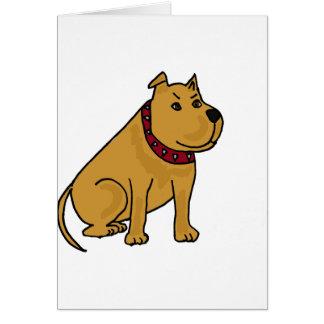 XX- Funny Puppy Dog Cartoon Greeting Card
