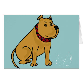 XX- Funny Puppy Dog Cartoon Greeting Cards