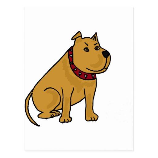 XX- Funny Puppy Dog Cartoon Post Cards