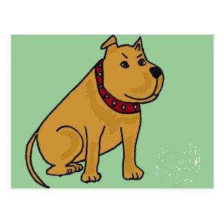 XX- Funny Puppy Dog Cartoon Postcard