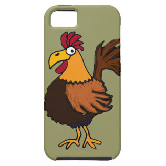 XX- Funny Rooster Cartoon Case For The iPhone 5