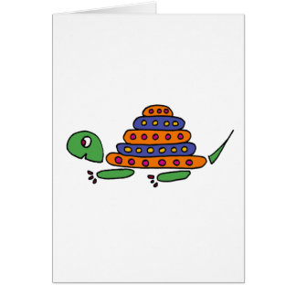 XX- Funny Turtle Cartoons Greeting Card