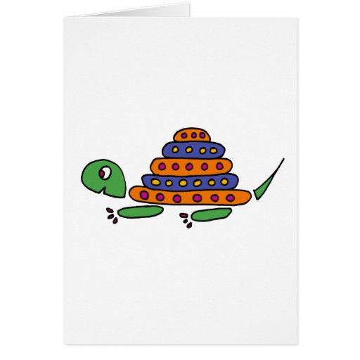 XX- Funny Turtle Cartoons Card