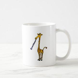 XX- Giraffe Playing the Clarinet Coffee Mug