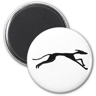 XX- Greyhound Racing Design 6 Cm Round Magnet