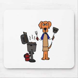 XX- Grill Master Cartoon Mouse Pad