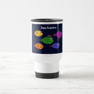 XX- Happy Graduation School of Fish Coffee Mug