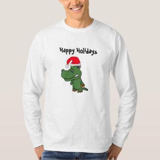 XX- Happy Holidays Gator Shirt