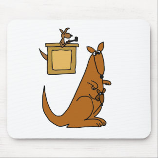 XX- Kangaroo Court Cartoon Mouse Pad