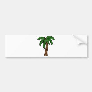 XX- Palm Tree Bumper Sticker