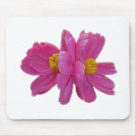 XX- Pink Peony Floral Photography Mouse Pads