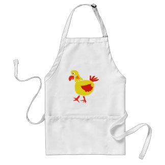 XX- Primitive Art Chicken Standard Apron