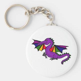 XX- Purple Dragon Key Chains