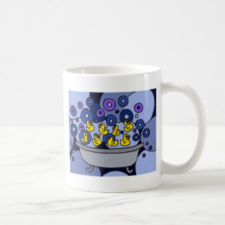 XX- Rubber Ducks and Bubbles Basic White Mug