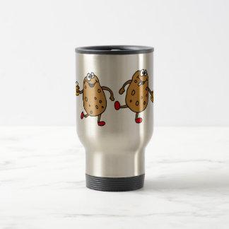 XX- Smashed Potatoes Cartoon Travel Mug