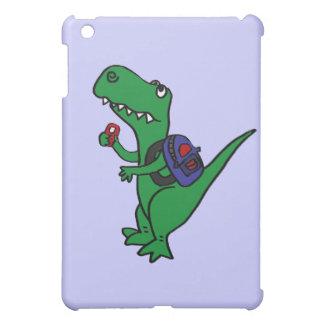 XX- T-rex Dinosaur Back to School Cartoon iPad Mini Case