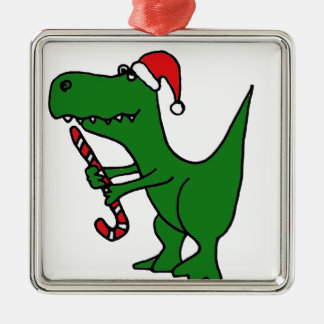XX- T-Rex Dinosaur Christmas Cartoon Christmas Ornament