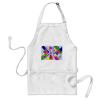 XX- Windmills and Tulips Art Aprons