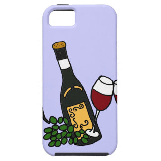 XX- Wine and Grapes Art Design iPhone 5 Case