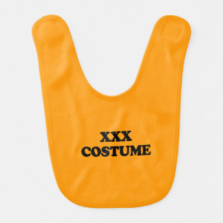 XXX COSTUME - - Halloween Bibs