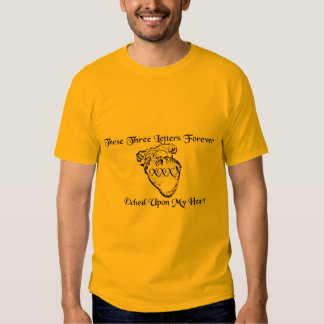 XXX Heart T-shirts