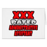 XXX Rated Administrative Assistant Greeting Cards