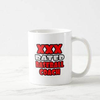 XXX Rated Baseball Coach Coffee Mug