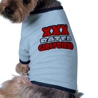 XXX Rated Girlfriend Doggie T-shirt
