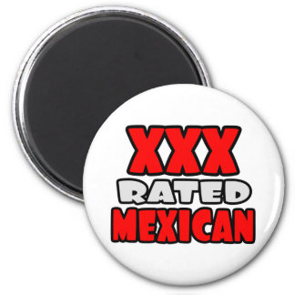 XXX Rated Mexican Refrigerator Magnets