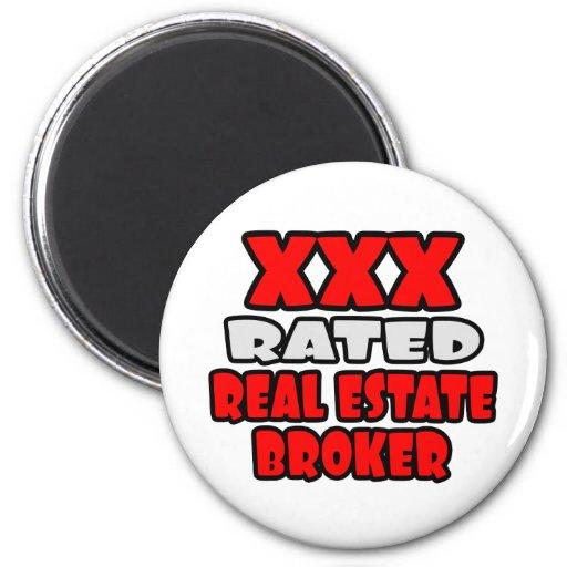 XXX Rated Real Estate Broker Fridge Magnets