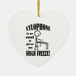 Xylophone, Brain Freeze Christmas Ornament