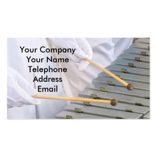 Xylophone or Marimba Players Pack Of Standard Business Cards