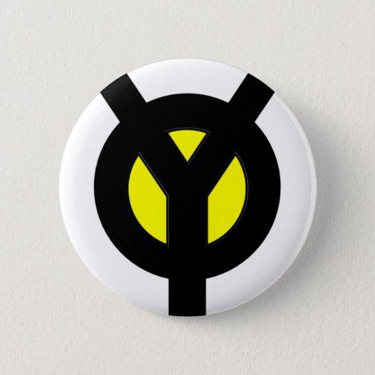 Y1Director 6 Cm Round Badge
