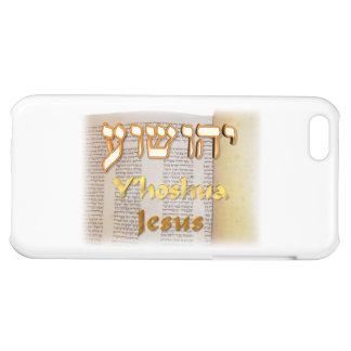Y hoshua Jesus name in Hebrew iPhone 5C Cover