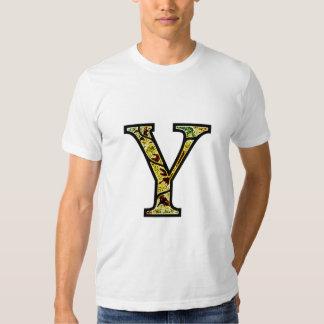 Y Illuminated Monogram T Shirts