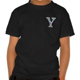 Y Illuminated Monogram Tee Shirt