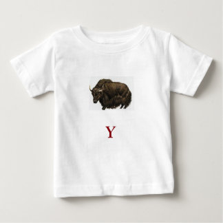 Y is for Yak Baby T-Shirt