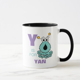 Y is for Yip-Yips | Add Your Name Mug