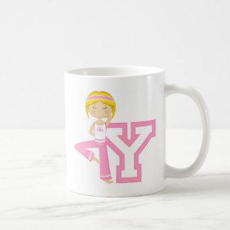 Y is for Yoga Girl Mugs