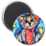 Y is for Yorkie Refrigerator Magnets