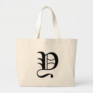 Y-text Old English Large Tote Bag