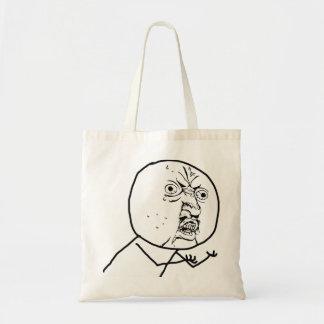 Y U NO (Original) - Tote Bag