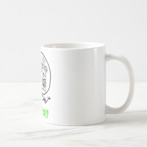 Y U No (with text) Coffee Mugs