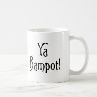 Ya Bampot Funny Scottish Slang Saying Basic White Mug