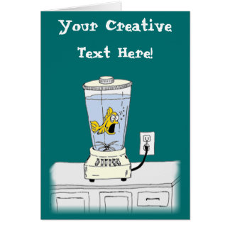 Stress relief cards stress relief card templates for Fish in a blender
